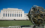 Palais des Nations in Geneva, Switzerland