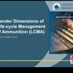 Ammunition management, a male-dominated field, seeks to better understand its impacts on women, men, boys and girls