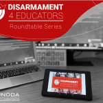 Disarmament4Educators Kicks Off with Online Roundtable Series