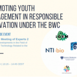 Side event during Biological Weapons Convention Meetingsof Experts spotlights youth contributions to responsible innovation